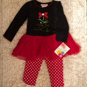 Christmas toddler outfit